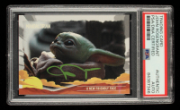John Rosengrant Signed 2020 Star Wars The Mandalorian Journey of the Child #15 A New Friendly Face (PSA Encapsulated) at PristineAuction.com