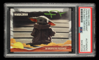 John Rosengrant Signed 2020 Star Wars The Mandalorian Journey of the Child #14 An Unexpected Passenger (PSA Encapsulated) at PristineAuction.com