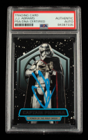 J. J. Abrams Signed 2016 Star Wars The Force Awakens Series Two Power of the First Order #3 Captain Phasma (PSA Encapsulated) at PristineAuction.com