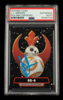 J. J. Abrams Signed 2015 Star Wars Journey to The Force Awakens Heroes of the Resistance #R4 BB-8 (PSA Encapsulated) at PristineAuction.com