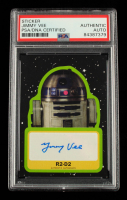 Jimmy Vee Signed 2019 Star Wars Journey to The Rise of Skywalker Autographs #AJV Jimmy Vee as R2-D2 (PSA Encapsulated) at PristineAuction.com