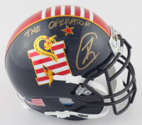 "Robert O'Neill Signed Navy Midshipmen Mini Helmet Inscribed ""The Operator"" (PSA COA) (See Description) at PristineAuction.com"