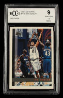 Tim Duncan 1997-98 Topps #115 RC (BCCG 9) at PristineAuction.com