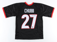 Nick Chubb Signed Jersey (Beckett Hologram) (See Description) at PristineAuction.com