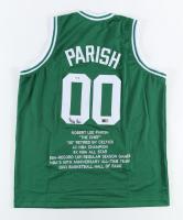 Robert Parish Signed Career Highlight Stat Jersey (PSA COA & TriStar Hologram) at PristineAuction.com