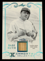 Babe Ruth 2017 Leaf Babe Ruth Immortal Collection New York Bat #YB42 #15/20 at PristineAuction.com