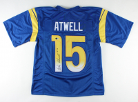 Tutu Atwell Signed Jersey (Beckett COA) at PristineAuction.com