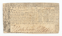 1774 $2 Two-Dollars - Maryland - Colonial Currency Note at PristineAuction.com