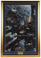 """Star Wars: Episode IV – A New Hope"" 26x37 Custom Framed 1977 Original Promotional Only Movie Poster (See Description) at PristineAuction.com"