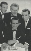 Vintage 1950s The Four Lads Postcard at PristineAuction.com