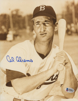 Cal Abrams Signed Dodgers 8x10 Photo (Beckett COA) at PristineAuction.com