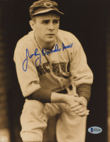 Johnny Vander Meer Signed Reds 8x10 Photo (Beckett COA) at PristineAuction.com