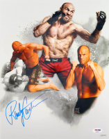 Randy Couture Signed 11x14 Photo (PSA COA) at PristineAuction.com