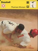 Thurman Munson 1977-79 Sportscaster Series 20 #2005 at PristineAuction.com