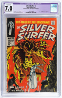 """1968 """"Silver Surfer"""" Issue #3 Marvel Comic Book (CGC 7.0) at PristineAuction.com"""
