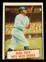 Babe Ruth 1961 Topps #401 60th HR at PristineAuction.com