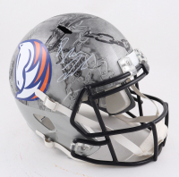 Drew Lock Signed Broncos Full-Size Hydro-Dipped Speed Helmet (Beckett Hologram) at PristineAuction.com