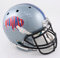 Zack Moss Signed Full-Size Authentic On-Field Helmet (Beckett Hologram) (See Description) at PristineAuction.com