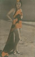 Vintage 1920s Flapper Girl Postcard at PristineAuction.com