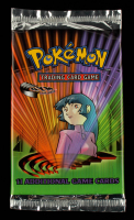 2000 Pokemon TCG Gym Challenge Booster Pack with (11) Cards at PristineAuction.com