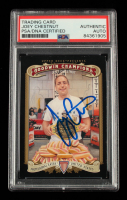 Joey Chestnut Signed 2012 Upper Deck Goodwin Champions #121 (PSA Encapsulated) at PristineAuction.com
