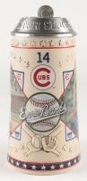 """Cubs LE Ernie Banks """"Mr. Cub"""" Stein Tankard at PristineAuction.com"""