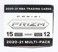 2020-21 Panini Prizm Basketball Cello Box with (12) Packs at PristineAuction.com