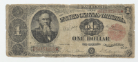 1891 $1 One-Dollar U.S. Treasury Note at PristineAuction.com