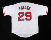 """Keith Foulke Signed Jersey Inscribed """"2004 WS Champs"""" & """"Reverse The Curse"""" (JSA COA) (See Description) at PristineAuction.com"""
