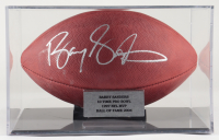 """Barry Sanders Signed """"The Duke"""" Official NFL Game Ball with Display Case (Beckett COA) (See Description) at PristineAuction.com"""