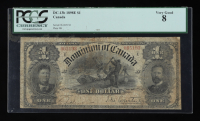 1898-E $1 One-Dollar Dominion of Canada Large-Size Bank Note (PCGS 8) at PristineAuction.com