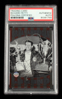 Richard Petty Signed 2014 Press Pass American Thunder Great American Legend #GAL2 1966 (PSA Encapsulated) at PristineAuction.com