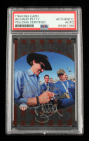 Richard Petty Signed 2014 Press Pass American Thunder Great American Legend #GAL10 2014 (PSA Encapsulated) at PristineAuction.com