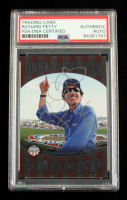 Richard Petty Signed 2014 Press Pass American Thunder Great American Legend #GAL9 2008 (PSA Encapsulated) at PristineAuction.com