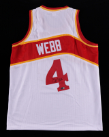 Spud Webb Signed Jersey (TriStar Hologram) at PristineAuction.com