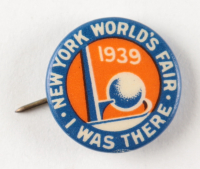 New York 1939 World's Fair Lapel Pin (See Description) at PristineAuction.com