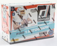 2021 Panini Donruss Football Mega Box with (7) Packs at PristineAuction.com