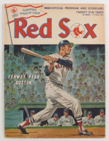 1967 Red Sox Official Program & Score Card at PristineAuction.com