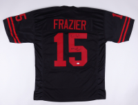 """Tommie Frazier Signed Jersey Inscribed """"94/95 Nat'l Champs"""" (Beckett COA) (See Description) at PristineAuction.com"""