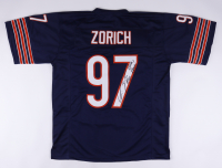 """Chris Zorich Signed Jersey Inscribed """"Bear Down"""" (JSA COA) (See Description) at PristineAuction.com"""