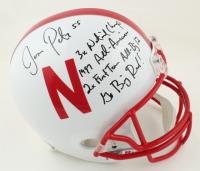 Jason Peter Signed Nebraska Cornhuskers Full-Size Helmet With Multiple Inscriptions (PSA COA) at PristineAuction.com