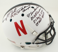 Grant Wistrom Signed Nebraska Cornhuskers Full-Size Authentic On-Field Speed Helmet with Multiple Inscriptions (PSA COA) at PristineAuction.com