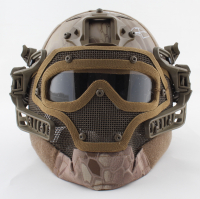"""Robert O'Neill Signed Navy SEAL Tactical Helmet Inscribed """"The Operator"""" (PSA COA) at PristineAuction.com"""