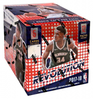 2017-18 Panini Revolution Chinese New Year Basketball Box with (12) Packs at PristineAuction.com