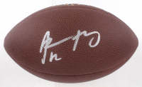 Aaron Rodgers Signed Football (Steiner Hologram) at PristineAuction.com