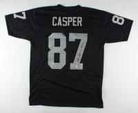 """Dave Casper Signed Jersey Inscribed """"HOF 02"""" (PSA Hologram) at PristineAuction.com"""