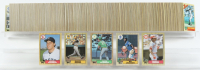 1987 Topps Traded Complete Set of (792) Baseball Cards with #320 Barry Bonds RC, #170 Bo Jackson RC, #648 Barry Larkin RC, #366 Mark McGwire, #340 Roger Clemens at PristineAuction.com