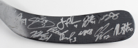 2006-07 Avalanche Easton Hockey Stick Team-Signed by (13) with Joe Sakic, Jordan Leopold, John-Michael Liles, Karlis Skrastins (Beckett LOA) (See Description) at PristineAuction.com