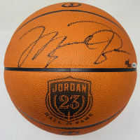 Michael Jordan Signed LE NBA Game Ball Series Jordan HOF Logo Basketball (UDA COA) at PristineAuction.com