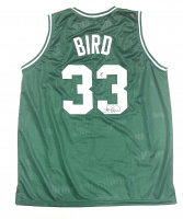 Larry Bird Signed Jersey (Beckett Hologram & Bird Hologram) at PristineAuction.com